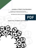 A Living Interpretation of Allah's Final Revelation
