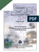 Biomedical waste inventory