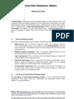 Forecasting Financial Needs-13!2!2009