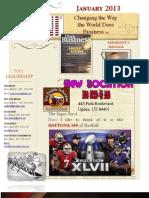 Feb 7, 2013 newsletter