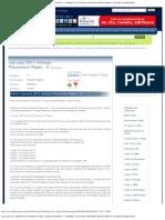 January 2011 Infosys Placement Paper - II, Bangalore.pdf