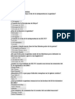 Test de Historia Argentina 1