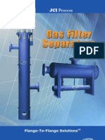 JCI Process Filter Separator Technical Brochure