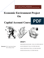 Capital Account Convertibility India