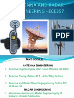ANTENNA AND RADAR ENGINEERING