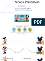Mickey Mouse Preschool Pack