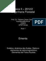 Aula 1 Ef Fisica II 2012 2