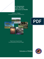 A Preliminary Assessment of the Economic Benefits of Land Conservation in Florida