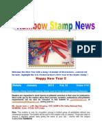 Rainbow Stamp News January 2013