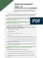 Prova3 - Gestao Educacional e Organizacao Do Trabalho Pedagogico