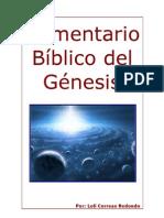 Comentario Bíblico del Génesis
