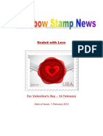 Rainbow stamp News February 2013
