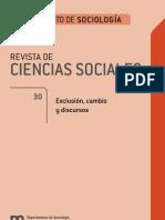 Revista Ciencias Sociales 30-1