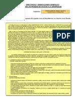 Directrices y Orientaciones 2012 2013