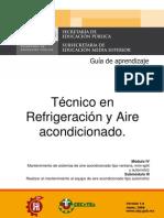 Tecnico Refrigeracion Aire Acondicionado