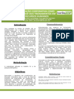 Poster de Conclusao de Especializacao - Pedagogia Empresarial e Educacao Corporativa