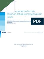 Europa Razones de La Crisis Situacion Actual y Perspectivas