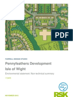 Pennyfeathers Development  Isle of Wight  Environmental statement