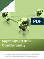 Etude Cloud Computing 2011