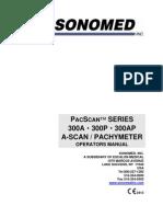 Sonomed 300 Series Manual