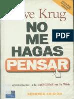 Steve Krug - No Me Hagas Pensar.pdf