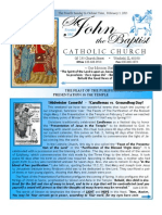 Bulletin February 3, 2013