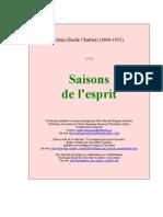 Alain Saisons Esprit