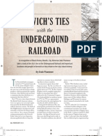 Norwich's Ties with the Underground Railroad