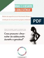 Movimento Minas e o desafio da Gravidez na Adolescência