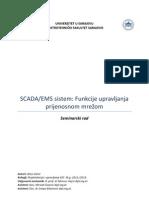 EMS SCADA Funkcije upravljanja prijenosnom mrežom