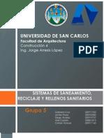 Grupo5-Saneamieto Reciclaje Rellenos Sanitarios