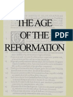 The Age of the Reformation