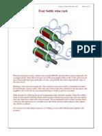 Planos Para Rack Portabotellas de Vino