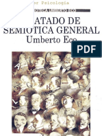 Umberto Eco - Tratado de Semiotica General By Luis Vallester
