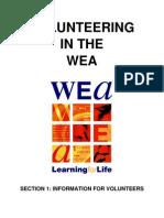Volunteer Handbook Section 1 - Volunteers