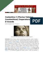 Costantino I - Flavius Valerius Constantinus Imperatore detto Il Grande