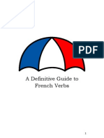 a definitive guide to french verbs