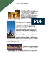Monumente din paris