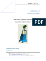 Modulo de Lixiviacion-flotacion