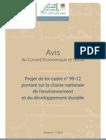 Rapport CES Maroc 2012
