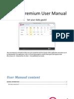 42Goals Premium User Manual