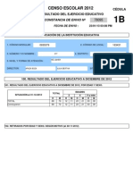 Censo Resultado Ejercicio Constancia