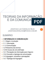aulasobreteoriasdainformaoedacomunicao-110628130709-phpapp01