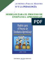 Modelos para El Proceso Enseñanza-Aprendizaje