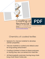Coating of Textiles