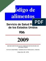fda food code en español