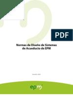 Normas Diseno Acueducto EPM