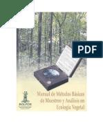 Libro metodos de muestreo de ecología vegetal