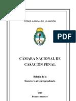 sumario jurisprudencia 2010