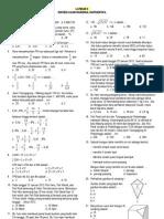 Ujian Matematika SD UN 2012